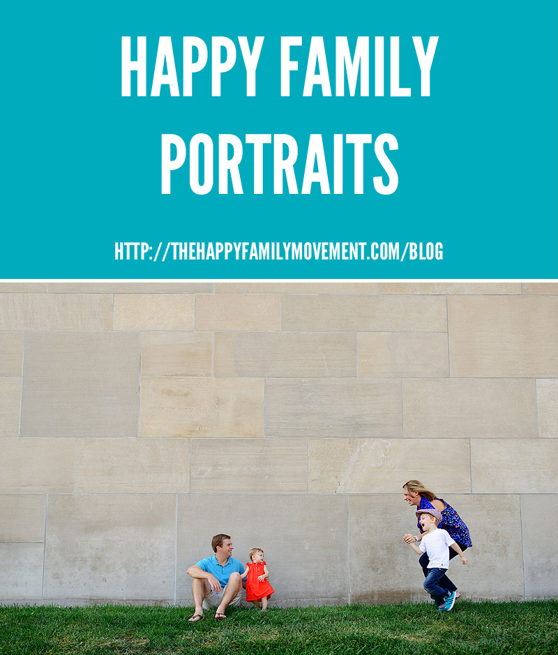 Happy Family Portraits by the Solars