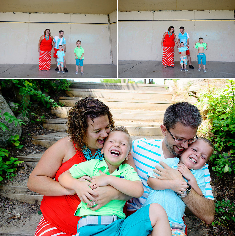 Family portraits in Minneapolis, Minnesota.