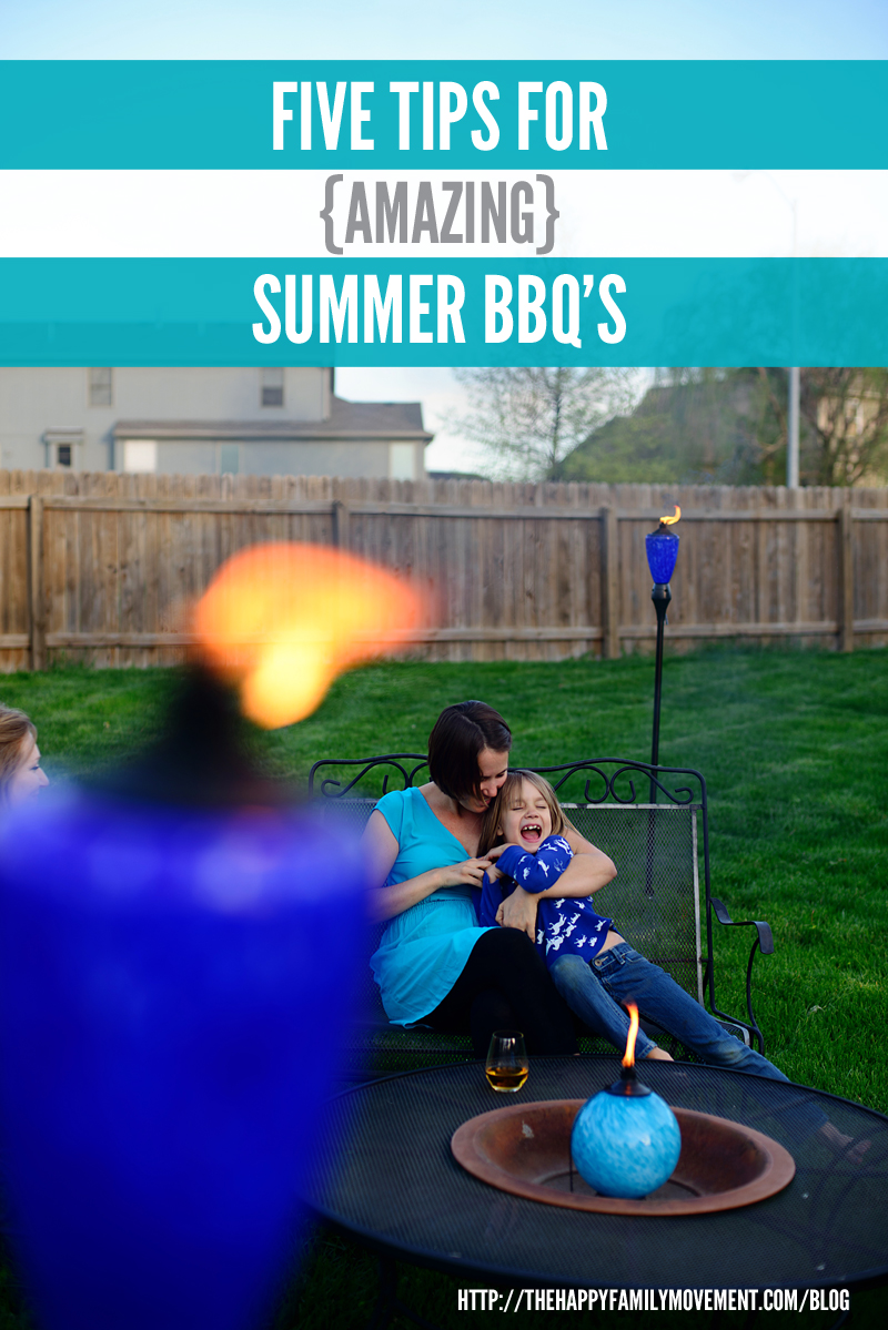 five tips for amazing summer BBQs