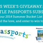2014 Summer Bucket List Challenge Giveaway – Week 2