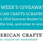 2014 Summer Bucket List Challenge Giveaway – Week 3