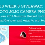 2014 Summer Bucket List Giveaway – Week 6