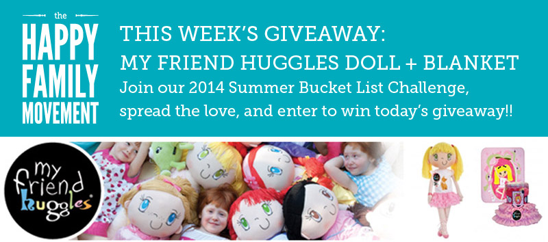 summer bucket list giveaway my friend huggles