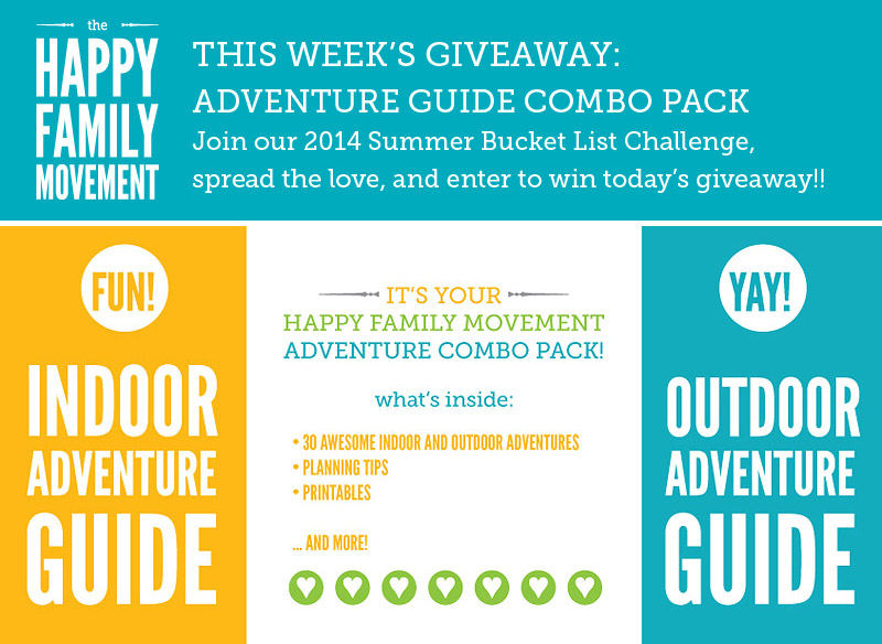 summer bucket list giveaway hfm adventure guides