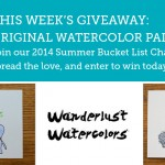 2014 Summer Bucket List Giveaway – Week 15